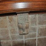 Batchelder corbel tile decorative