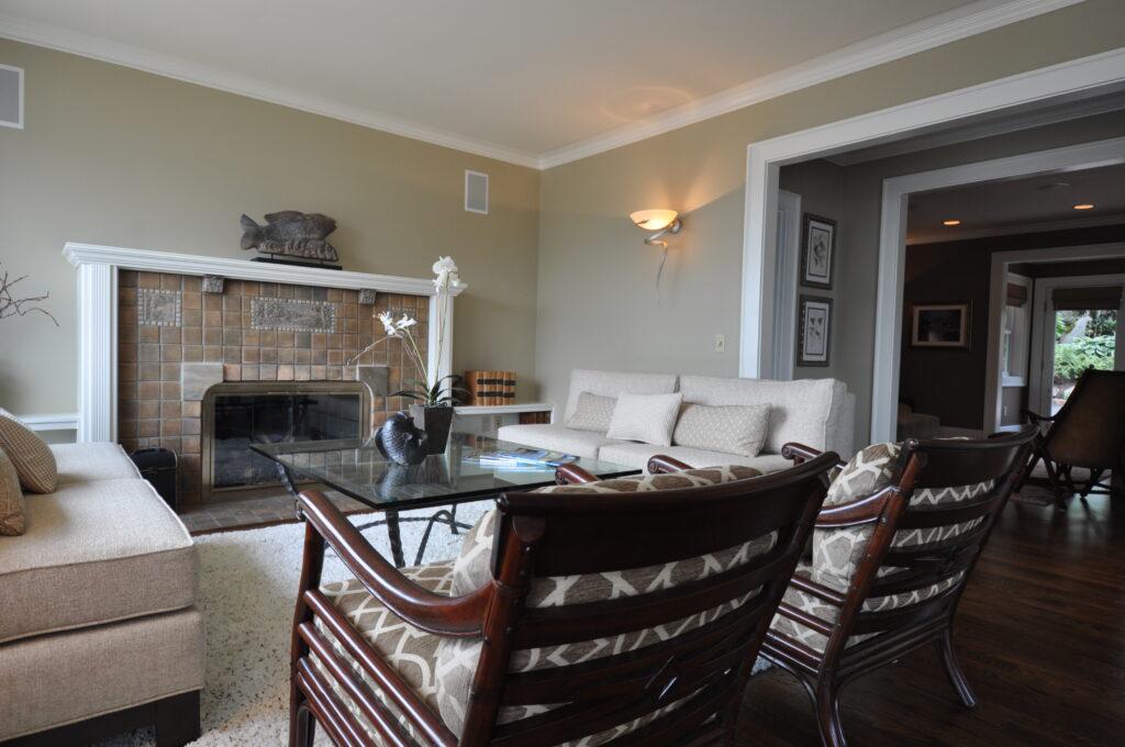 tile fireplace surround Batchelder