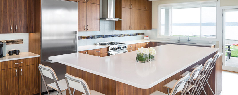 All of the careful planning paid off big time for our clients with a kitchen remodel that finished under budget, on time, and with two new spaces that will be well-used by the whole family.