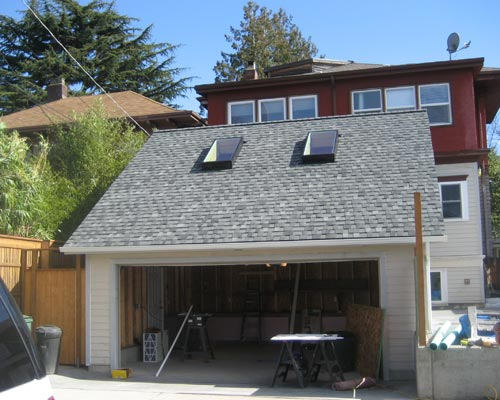 After: A New Two Car Garage With Storage, And Beyond, A Complete