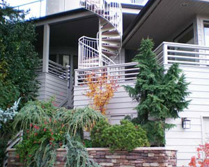 remodeler Shoreline custom stairs, outdoor space design Seattle