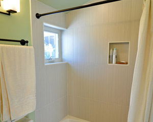 bathroom remodel seattle. A Small Window In The Shower Area Brings Even More Light Bathroom Remodel Seattle T