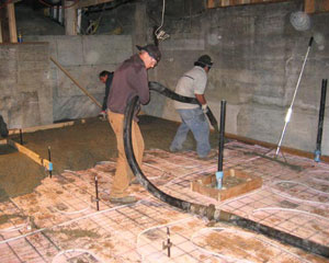 Foundation remodels ventana construction seattle washington for Insulating basement floor before pouring