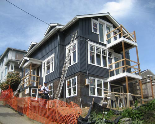 Seattle Second Story Addition Ventana Construction