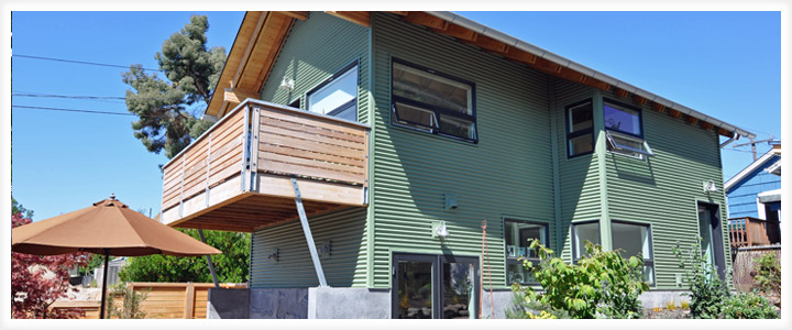 Backyard Cottage Seattle backyard cottage seattle - ventana construction washington