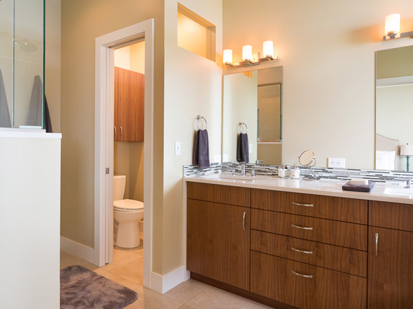 Laundry In Bathroom Layout