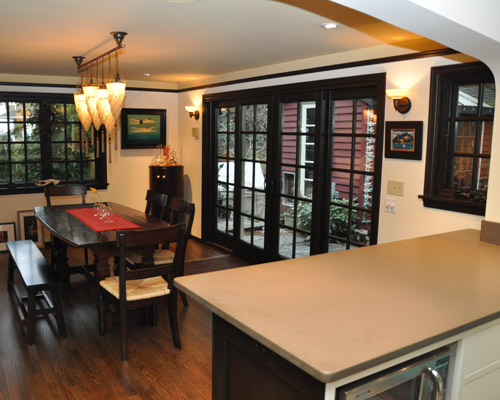 The Addition Also Affords Space For A Dining Room Which Includes Beautiful 4