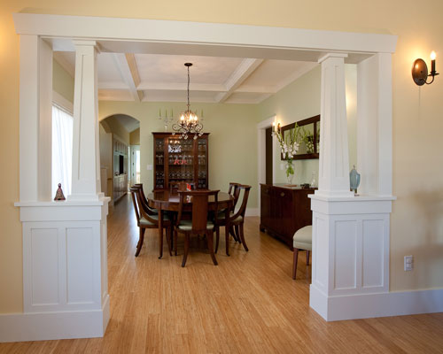Dining room remodels ventana construction seattle for Dining room entrance ideas
