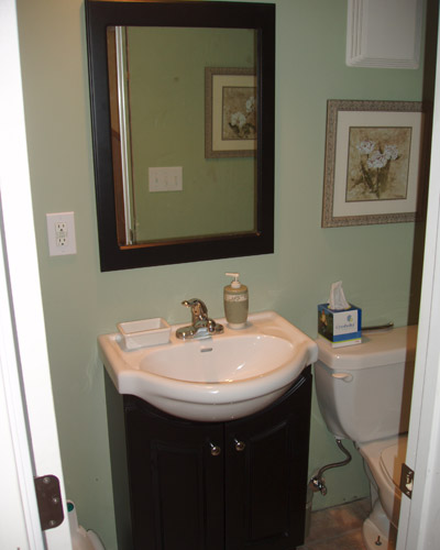 Basement remodels ventana construction seattle washington for Bathroom remodel seattle