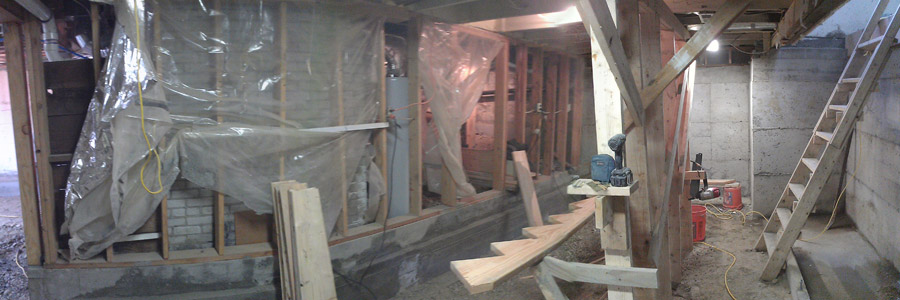 Seattle Basement Dig Down Remodel Ventana Construction