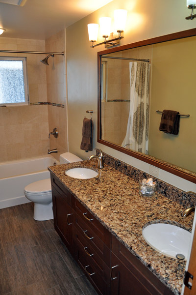 double bath remodel seattle ventana construction seattle washington