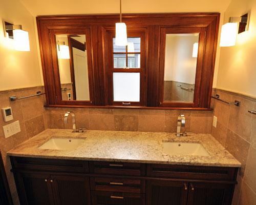 bathroom construction cost