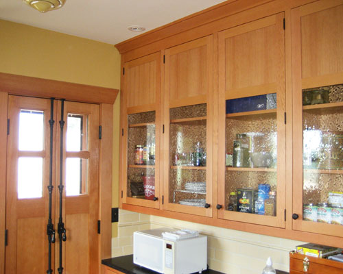 ... On The Opposite Side Of The Kitchen Is A Wall Of Built In Custom  Cabinetry ...