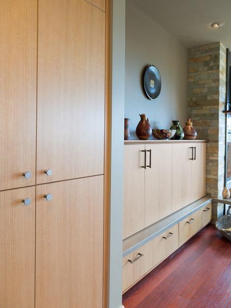 Seattle custom kitchen remodel ventana construction for Anigre kitchen cabinets