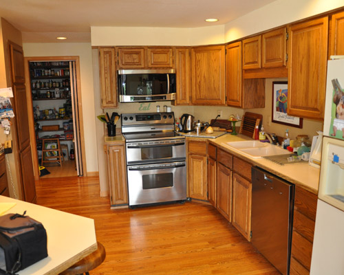 Remodeled Kitchens With Oak Cabinets Kitchen Appliances Tips And