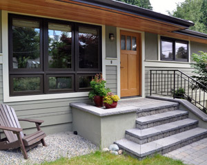 Basement And Outdoor Remodel Ventana Construction Seattle